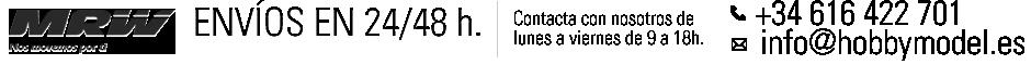 Información de contacto tienda radio control hobby model
